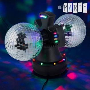 Bola de Discoteca Doble con Espejos Th3 Party