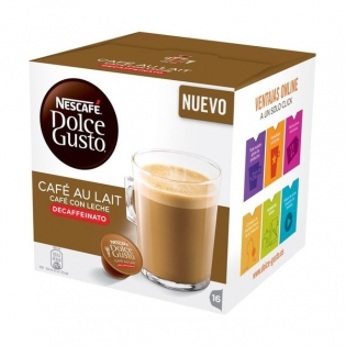 3ec0200cc8e Kohvikapslid Nescafé Dolce Gusto 97934 Café Au Lait (16 uds) Kofeiinivaba