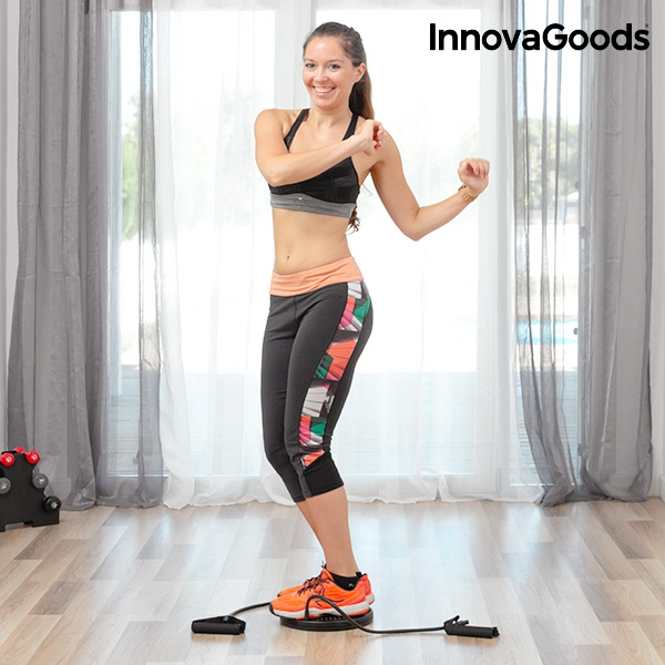 6a7b85463f InnovaGoods Cardio Twister Disc with Exercise Guide InnovaGoods Cardio  Twister Disc with Exercise Guide ...