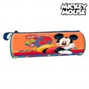 Cylindrisk skolväska Mickey Mouse 32367 Orange 01dcb30dcca5b