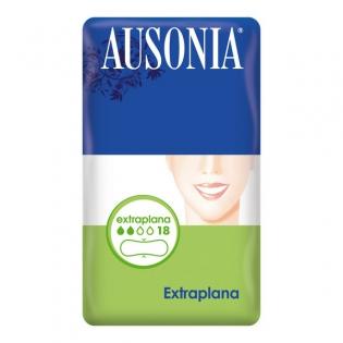 Extra Flat Sanitary Pads Ausonia (18 uds)