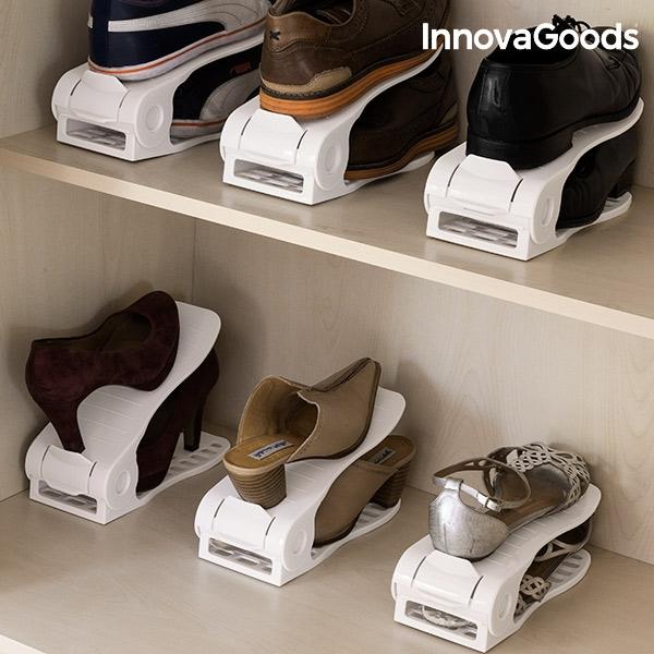 ... Nastaviteľná Skrinka na Topánky Shoe Rack InnovaGoods (6 párov) ... 90126fb358d
