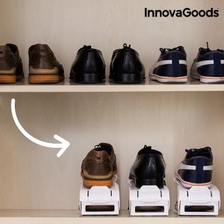 d3c8f459d Nastaviteľná skrinka na topánky Shoe Rack InnovaGoods (6 párov ...