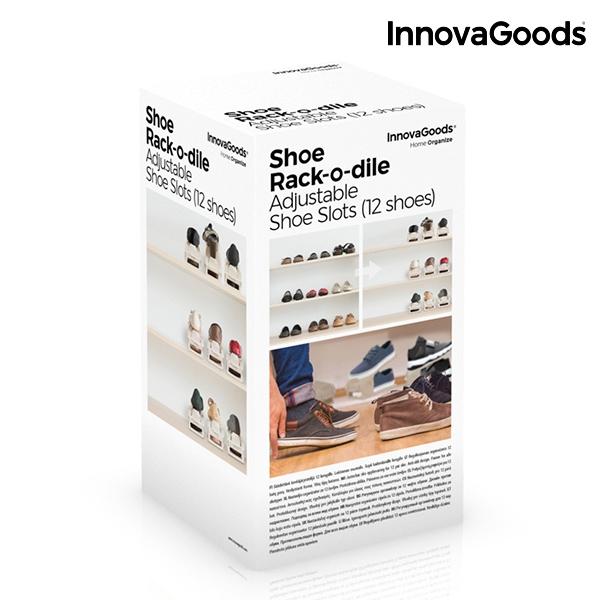 ... Nastaviteľná Skrinka na Topánky Shoe Rack InnovaGoods (6 párov) b6f03aed367