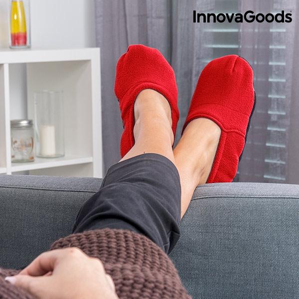 de con Zapatillas calefacción microondas InnovagoodsComprar precio a wP0OkZNX8n