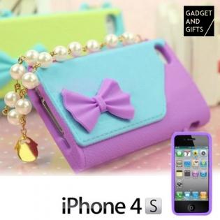 7a6146e4cea Funda iPhone 4/4S Bolso con Perlas Gadget and Gifts | Comprar a ...