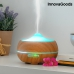 Humidificateur Diffuseur d'Arômes LED Wooden-Effect InnovaGoods