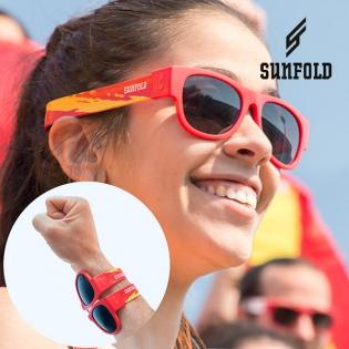 OUTLET Lunettes de Soleil Enroulables Sunfold Mondial Spain Red (Sans  emballage ) eb0feb69b501
