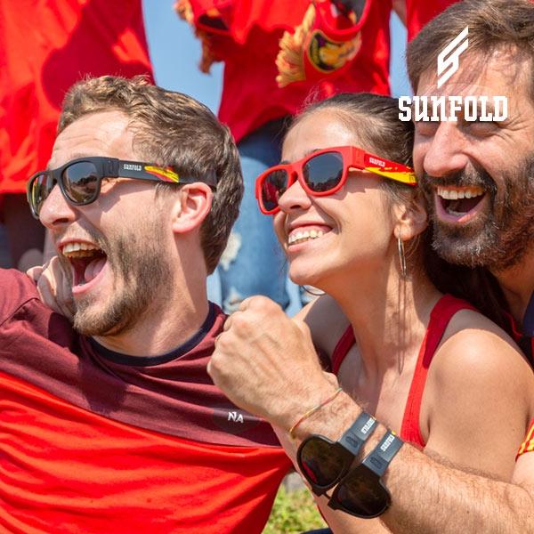 ... OUTLET Lunettes de Soleil Enroulables Sunfold Mondial Spain Red (Sans  emballage ) ... 942bd0b0dafb