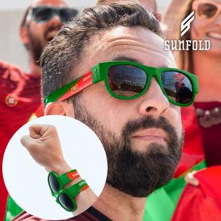 OUTLET Lunettes de Soleil Enroulables Sunfold Mundial Portugal (Sans  emballage ) 3df7e510bf8b