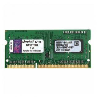 5aab9fc0a Pamäť RAM Kingston IMEMD30096 KVR16S11S8/4 4 GB 1600 MHz DDR3-PC3-12800