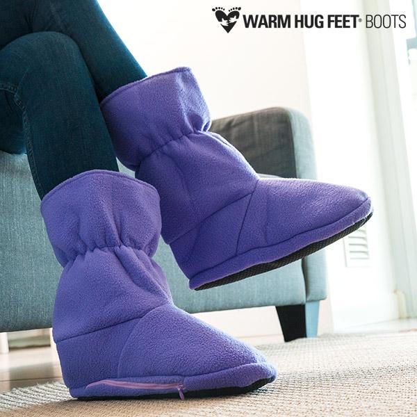 Warm Hug Feet Θερμαινόμενες Παντόφλες Μπότες Warm Hug Feet Θερμαινόμενες  Παντόφλες Μπότες ... 6469f7c3eb6