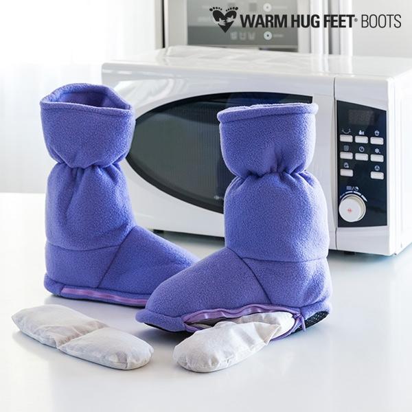 ... Warm Hug Feet Θερμαινόμενες Παντόφλες Μπότες ... 90f1c6de4fe