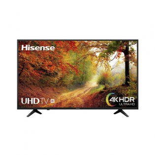 Smart Tv Hisense 65a6140 65 4k Ultra Hd Wifi Hdr Schwarz Zum