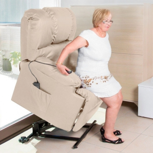 Relaksacyjny Fotel Podnośnik Z Masażem Cecotec 6012