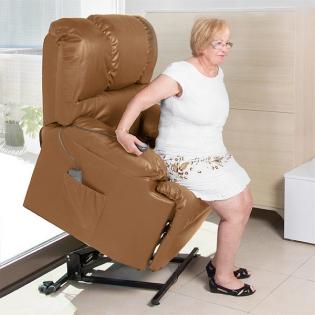 Podnoszony Fotel Relaksacyjny Z Masażerem Cecotec Camel 6010