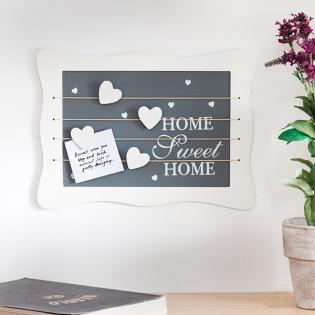7222b81c9 Drevená nástenka na poznámky Sweet Home (34 x 25 cm) | Kúpiť za ...