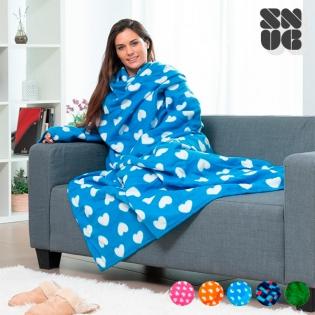 Coperta Con Maniche Originale.Coperta Super Soffice Kangoo Snug Snug Con Maniche Per Adulti