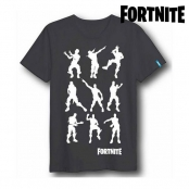 Fortnite T-Shirts /à Manches Courtes Rouge