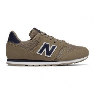 Chaussures casual femme New Balance KJ373TAY Beige