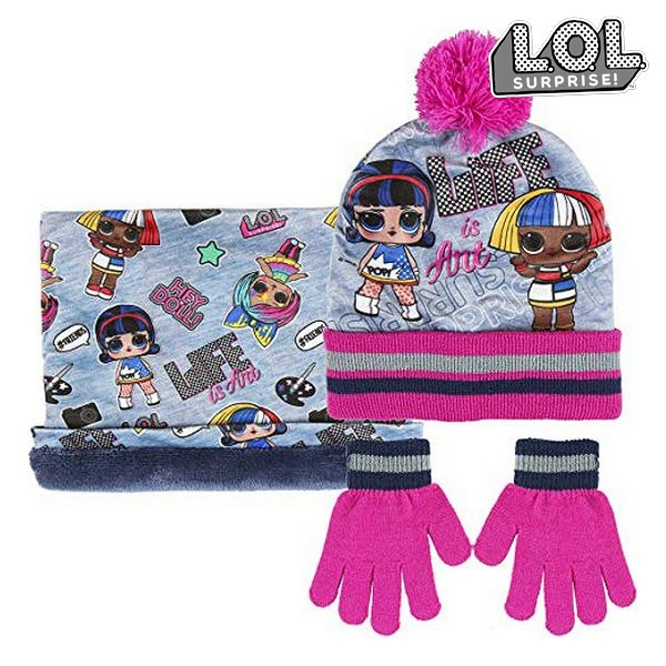 LOL Suprise Hat with Gloves