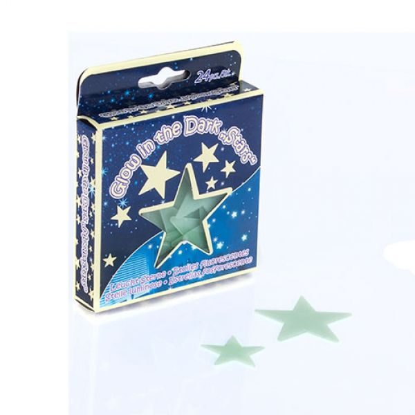 Glow in the dark stars and planets