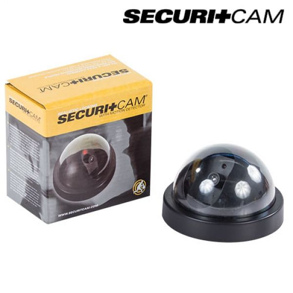fausse cam ra de surveillance dome securitcam acheter. Black Bedroom Furniture Sets. Home Design Ideas