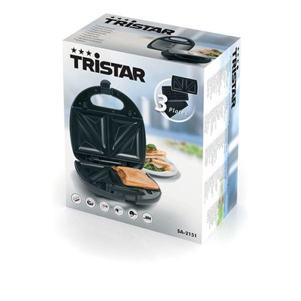 6f43997fd Sendvičovač Tristar SA2151 750W Oceľ Sendvičovač Tristar SA2151 750W Oceľ  ...