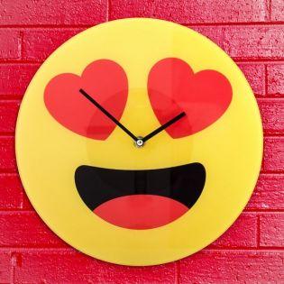 Sieninis laikrodis su širdutėmis