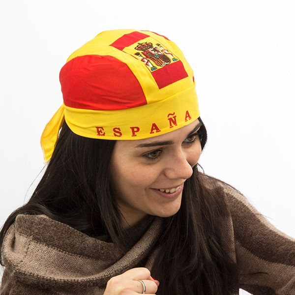 8a36f3ca2f64 Gorro Pañuelo Bandera de España Th3 Party