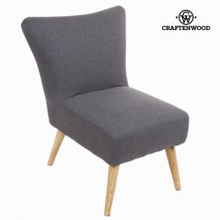 Sillón sixty gris - Colección Love Sixty by Craftenwood