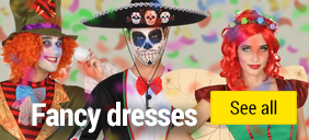Fancy dress and celebration items
